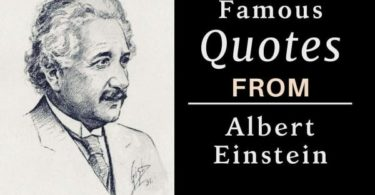Famous Quotes about Albert Einstein