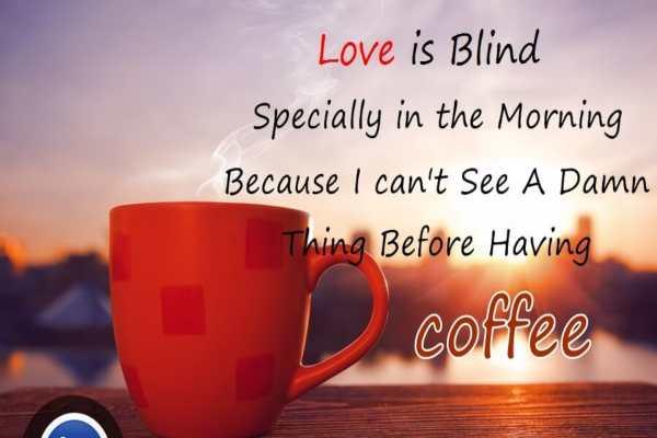 कॉफी पर स्टैटस