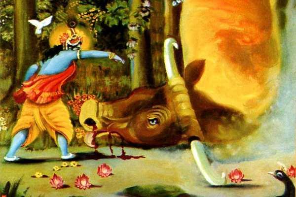 अरिष्टासुर और कृष्ण