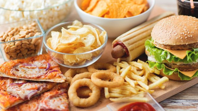 Essay on junk food in hindi