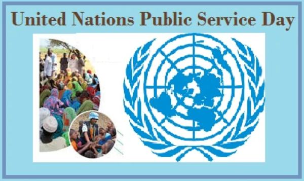 United Nations Public Service Day in hindi