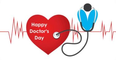few lines about doctors day in hindi
