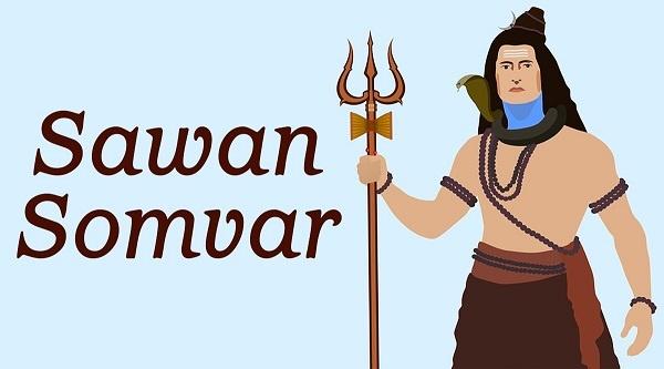 Sawan Somvar Shubhechha Marathi Wishes