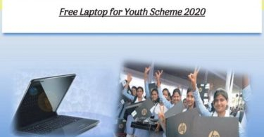 Free Laptop for Youth Scheme 2020