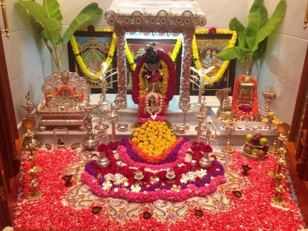 Janmashtami Decoration Ideas flower