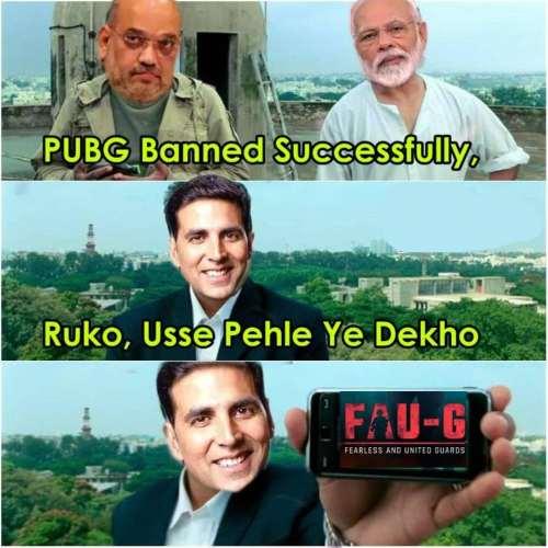 Faug Memes in Hindi