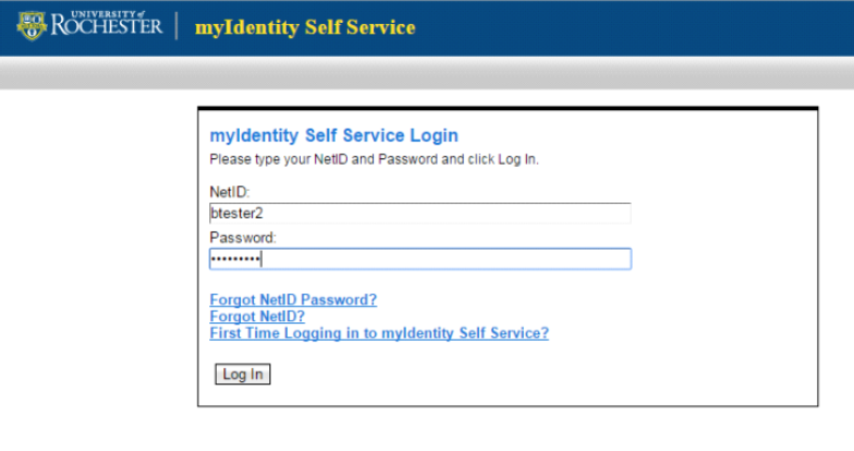 HRMS Alternate ID password change