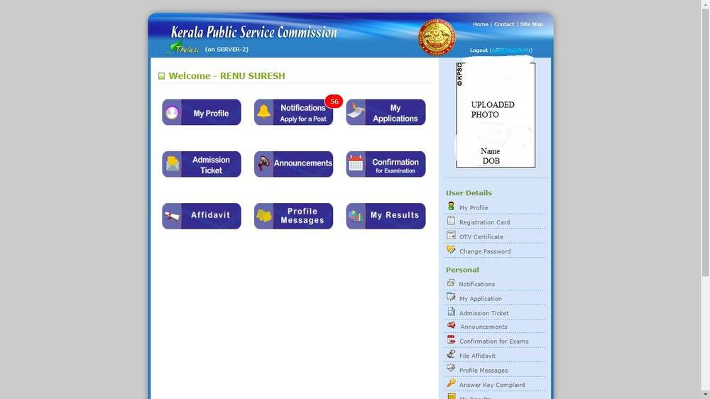 KPSC Thulasi registration 3