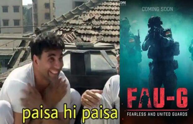 Fauji Game Memes