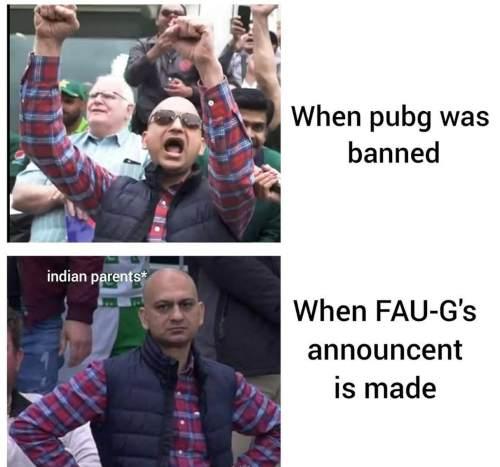 Faug meme