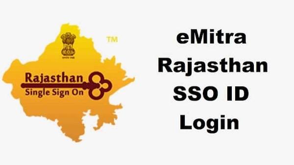 eMitra Rajasthan SSO ID Login