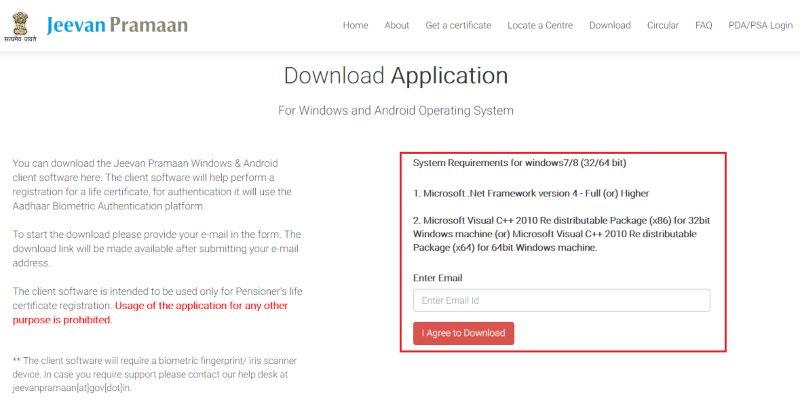 Jeevan pramaan app download