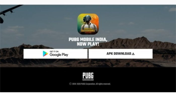 पबजी मोबाइल इंडिया डाउनलोड