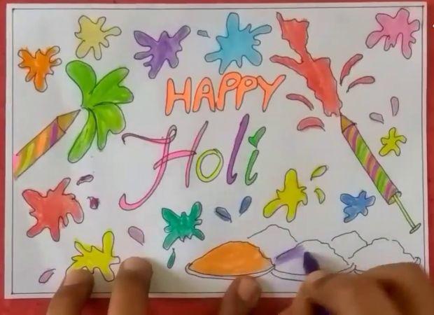 happy holi chart