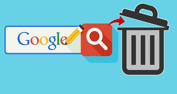 Google Par Search Kiya Hua Delete Kaise Kare