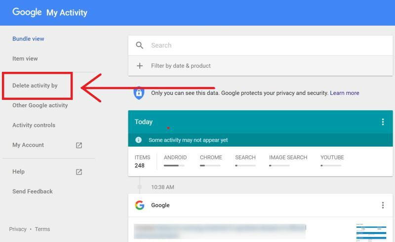 Google Search Delete Kaise Kare