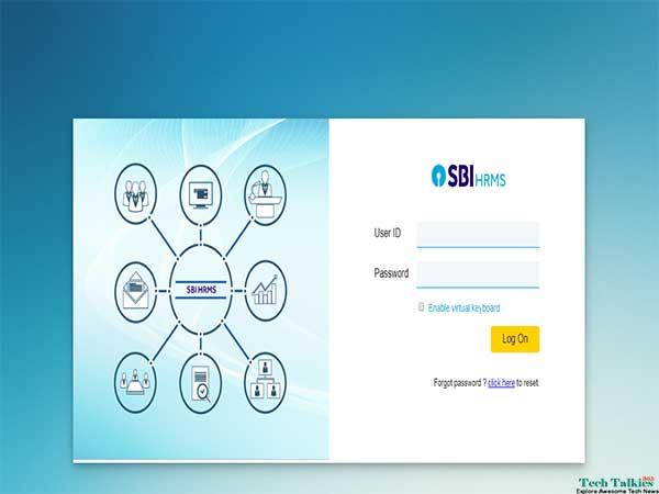 Login to SBI HRMS Portal