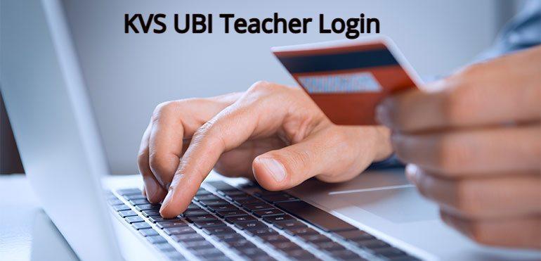 UBI Teacher Login