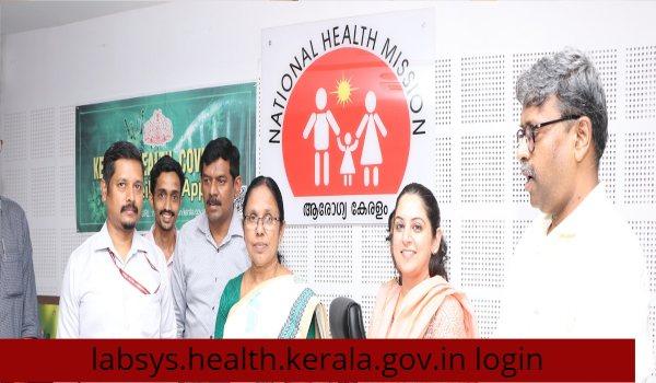 labsys health kerala gov in login