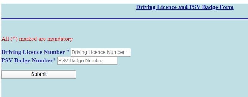 Delhi Driver Yojana registration