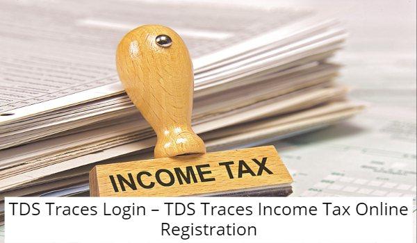 TDS Traces Login Registration
