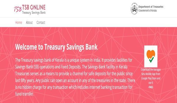 TSB online portal