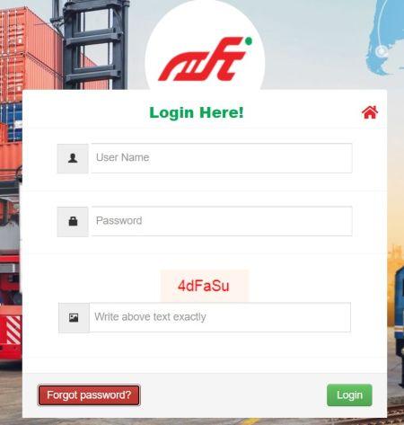 dfccil application login
