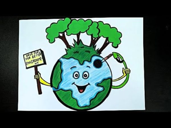poster on world environment day