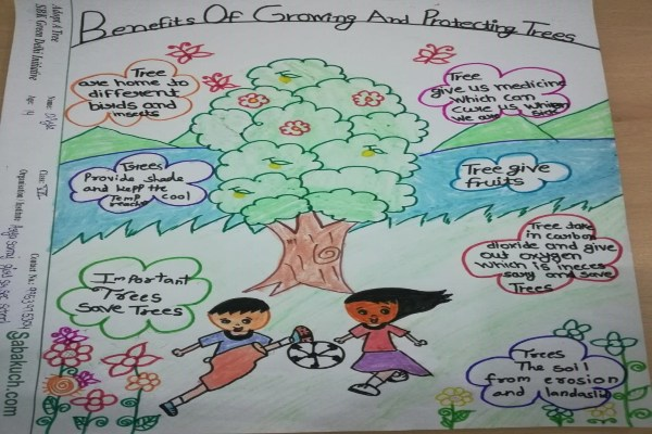 world environment day poster drawing