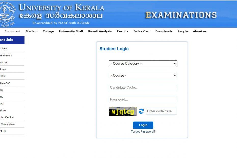 exams.keralauniversity.ac.in
