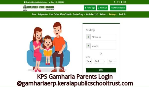 KPS Gamharia Parents Login