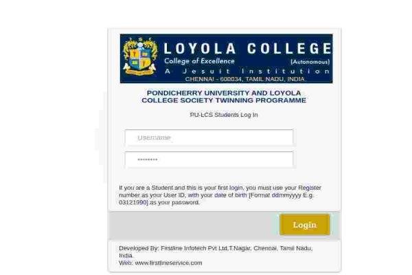 PULC student login