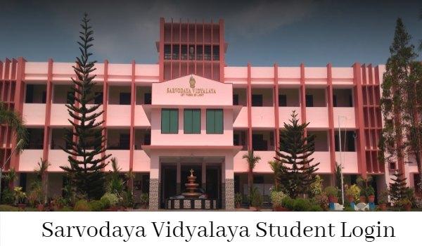 Sarvodaya Vidyalaya Student Login