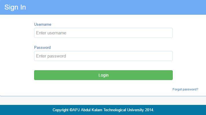 ktu Students Login Portal