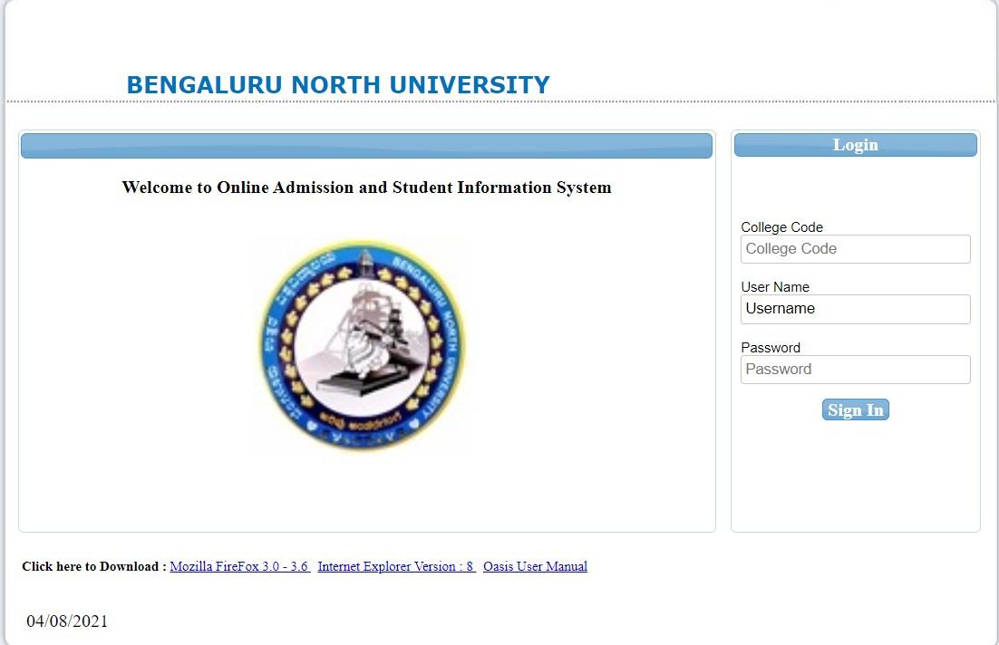 BNU college login portal