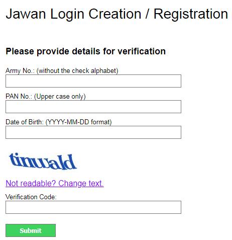 PAO AMC payslip registration