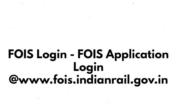 Fois terminal management system login
