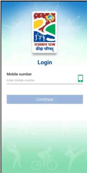Rajasthan Gramin Olympic Khel registration